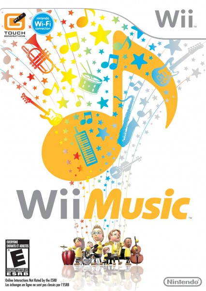 Wii Music Box Art