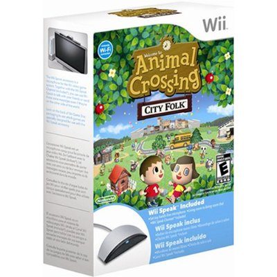 Animal Crossing: City Folk Wii Speak Bundle Cover Art