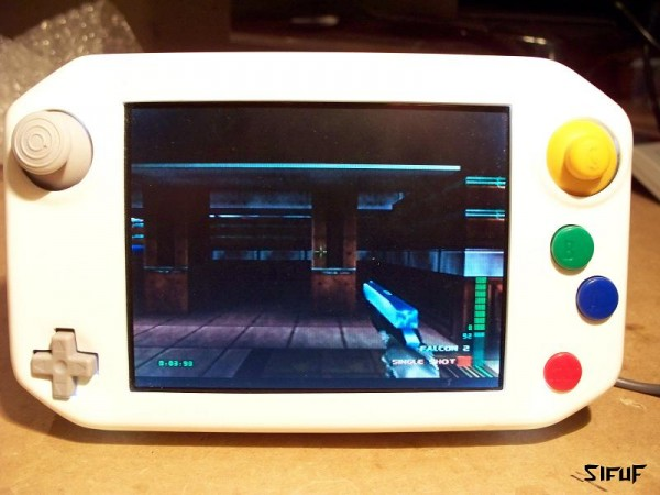 SifuF's N64 Portable Mod