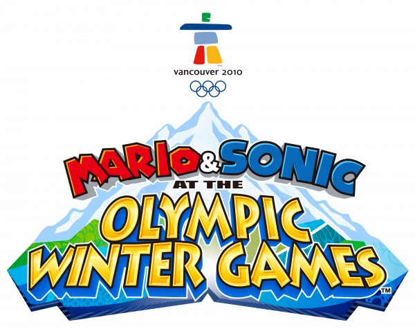 Mario & Sonic at the Olympic Winter Games Logo