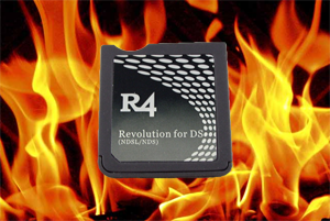 Burning R4 Nintendo DS