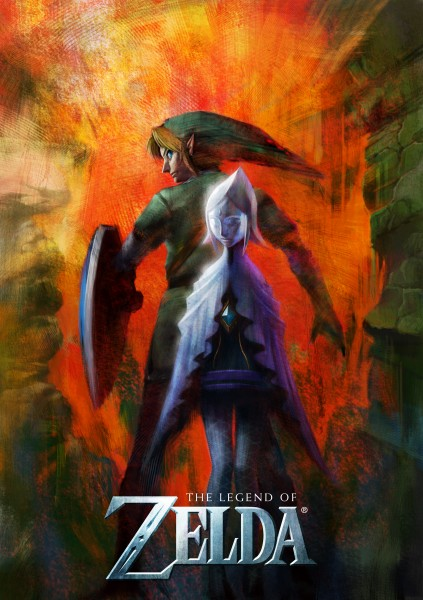 The Legend of Zelda Wii E3 Poster