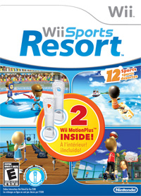 Wii Sports Resort 2 w/ Two Wii Motion Plus!