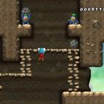 Mario hangs