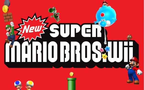 Super Mario Bros Wii Wallpaper