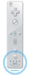 White Wiimote Plus w/ Motion Plus