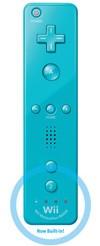 Blue Wiimote Plus w/ Motion Plus