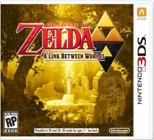 Zelda A Link Between Worlds Box Art