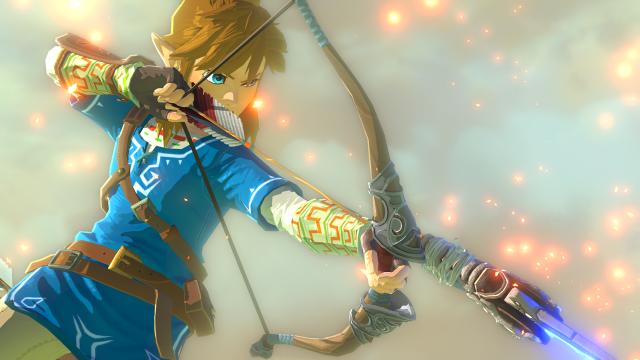 Zelda_WiiU_Link_Firing_Explosive_Arrow