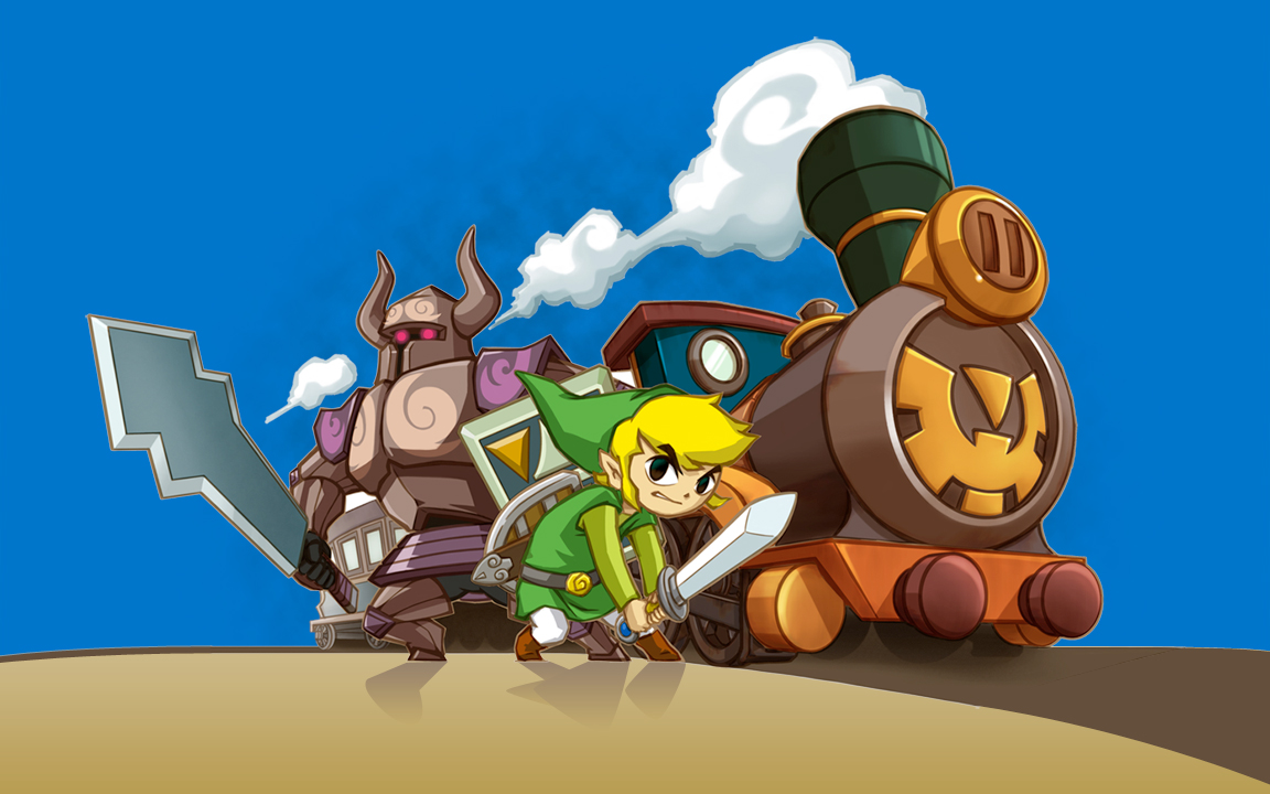 The Legend Of Zelda: Spirit Tracks Wallpaper 1152×720