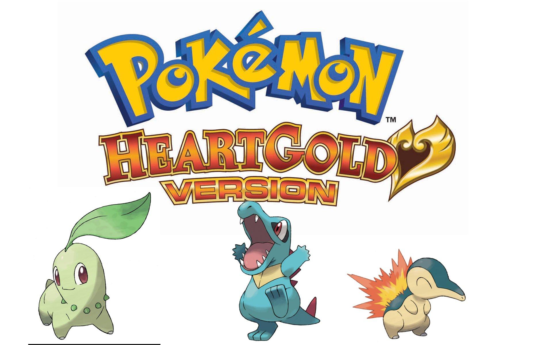 Pokemon HeartGold & Soulsilver Versions Wallpaper – Game ...