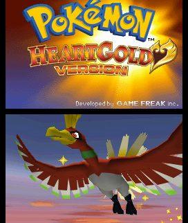 Pokemon HeartGold Title Screen