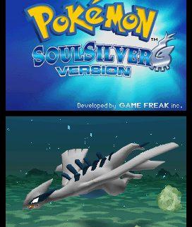 Pokemon SoulSilver Title Screen