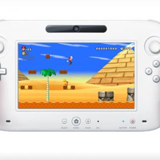 Nintendo Wii U Controller playing