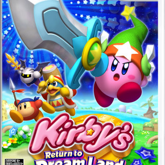 Kirby's Return to Dreamland Box Artwork