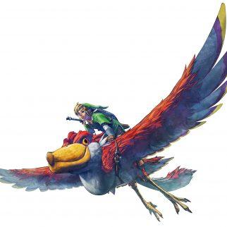 Link Riding Mysterious Bird
