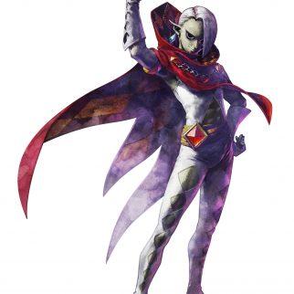 Skyward Sword Demon Lord Ghirahim Posing