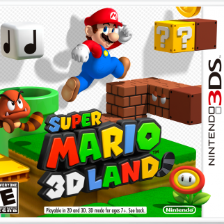 Super Mario 3D Land Box Art
