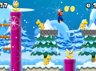 New Super Mario Bros. 2 Snow