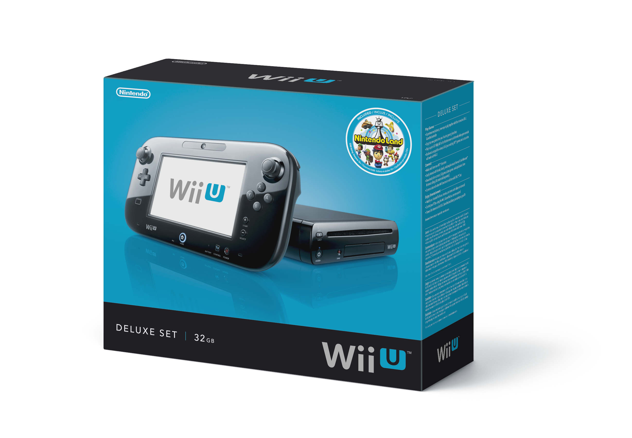 wii u console box art wii play games. Black Bedroom Furniture Sets. Home Design Ideas