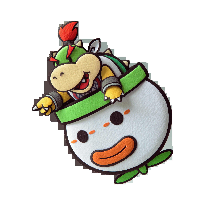 Paper Mario Sticker Star Bowser