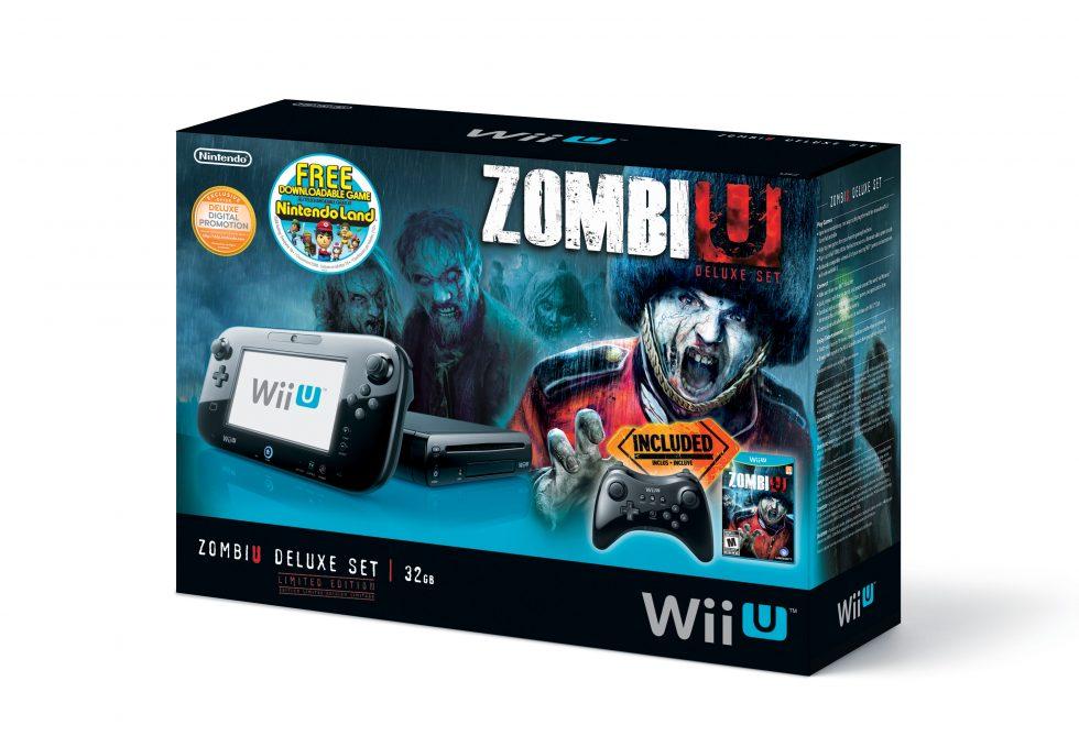 Zombiu Wii U Deluxe Combo