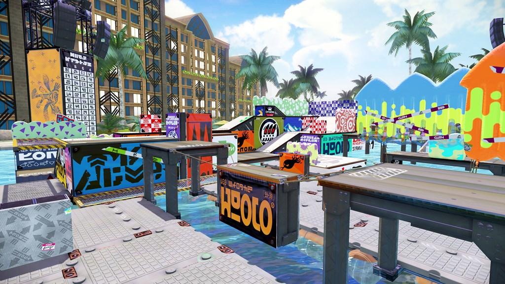 WiiU_Splatoon_stage_Mahi_Mahi_Resort