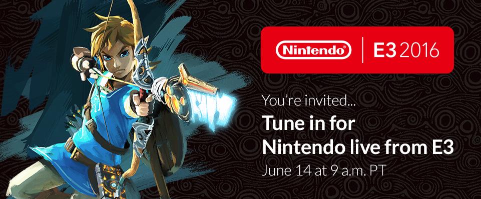 Nintendo E3 2016 Splash