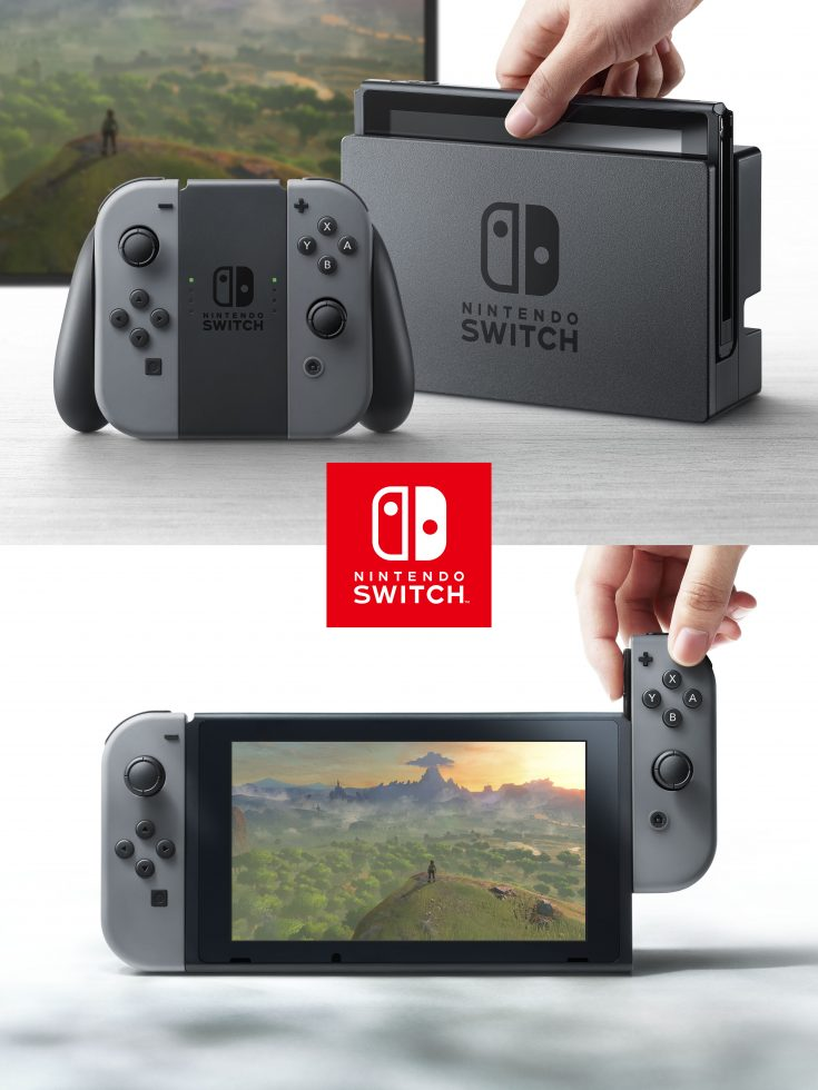 Nintendo Switch Hardware with Controller Mode