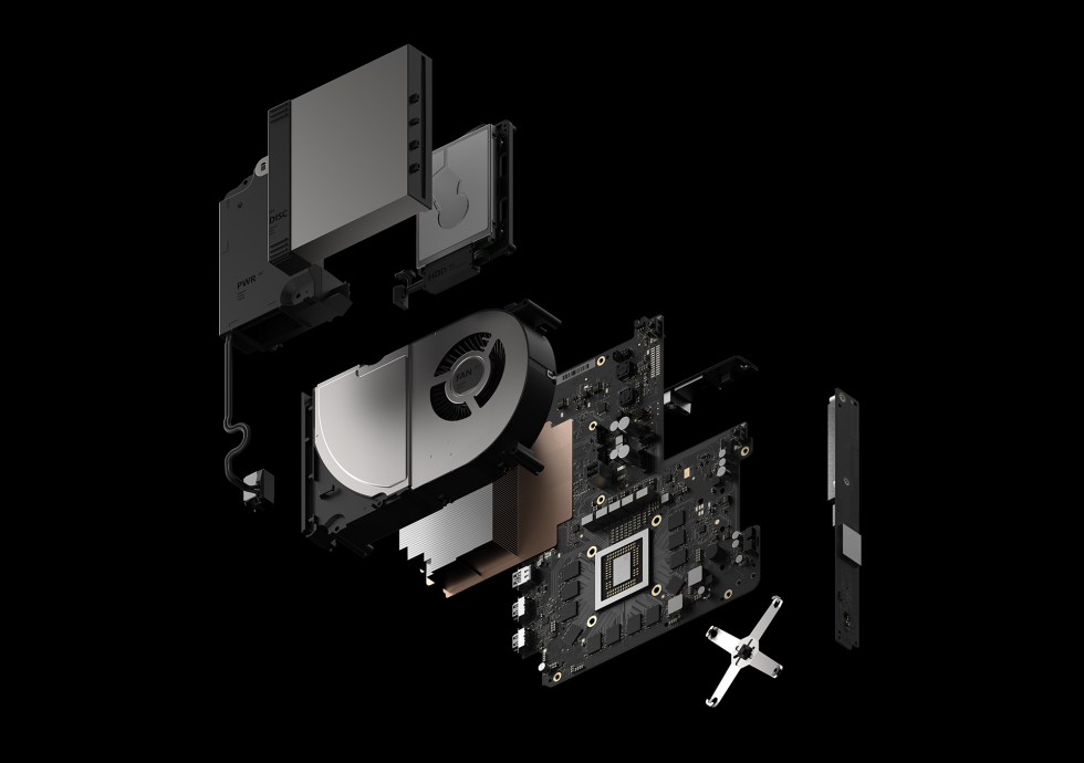 project scorpio xbox teardown render